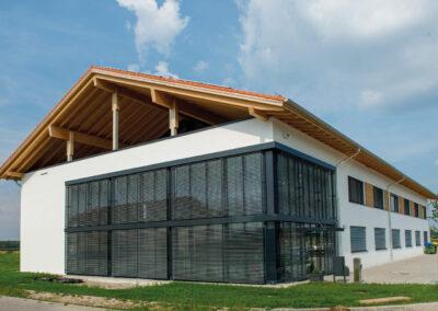 Gewerbebau in Otterfing, Firma eddylab