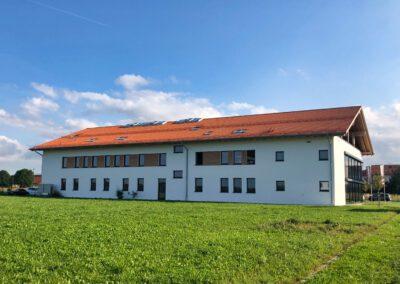 Gewerbebau in Otterfing, Firma eddylab, Außenansicht