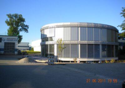 Neubau Verwaltungsgebäude Maschinenbau Heinzler, Bruckmühl