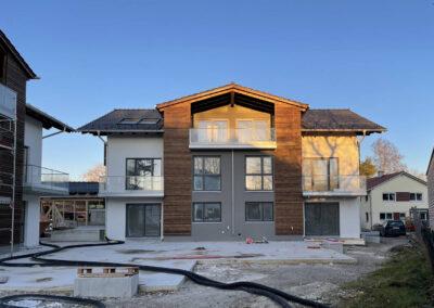 Neubau 2er Mehrfamilienhäuser mit TG – Flurstraße Bad Aibling