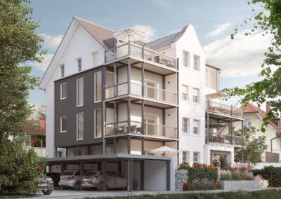 Sanierung Mehrfamilienhaus Baierstraße, Kolbermoor